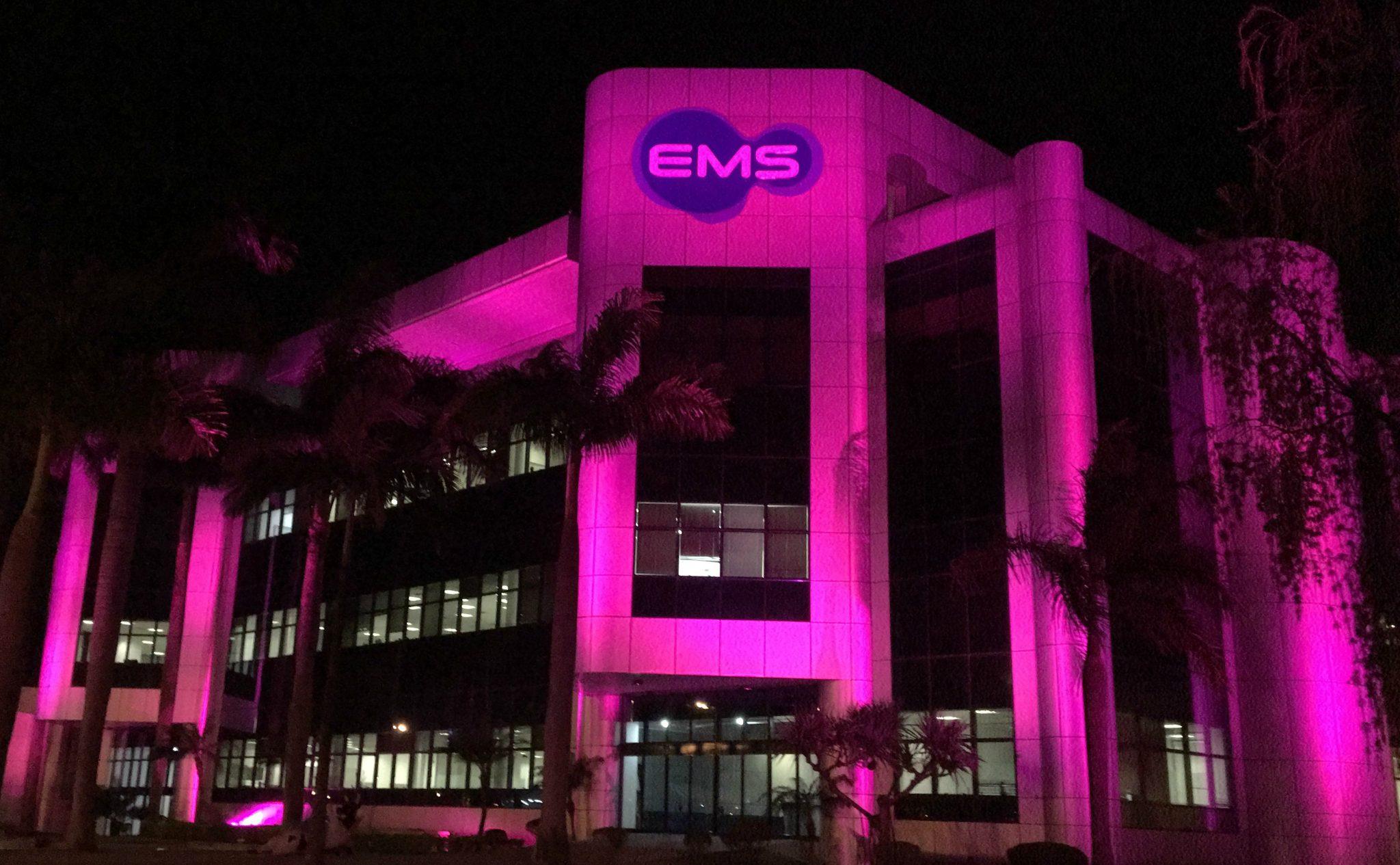 Outubro Rosa da EMS