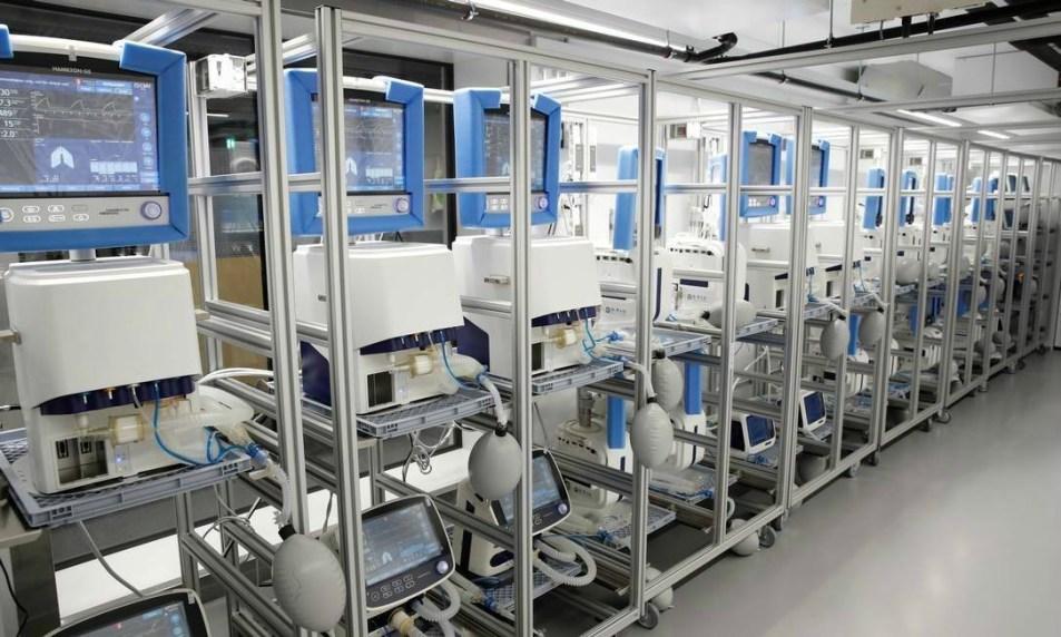 Respiradores mecânicos serão produzidos no Brasil