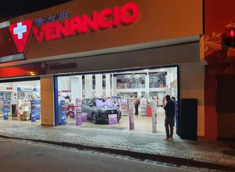 Drogaria Venancio faz promoção com carro 0 km