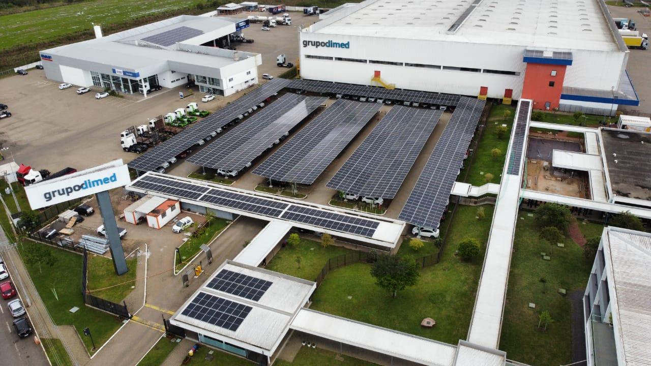 Usina fotovoltaica da Panvel