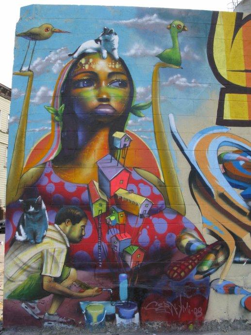 Graffiti de Binho.