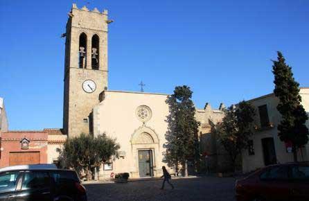 La iglesia se Sant Julià de Argentona