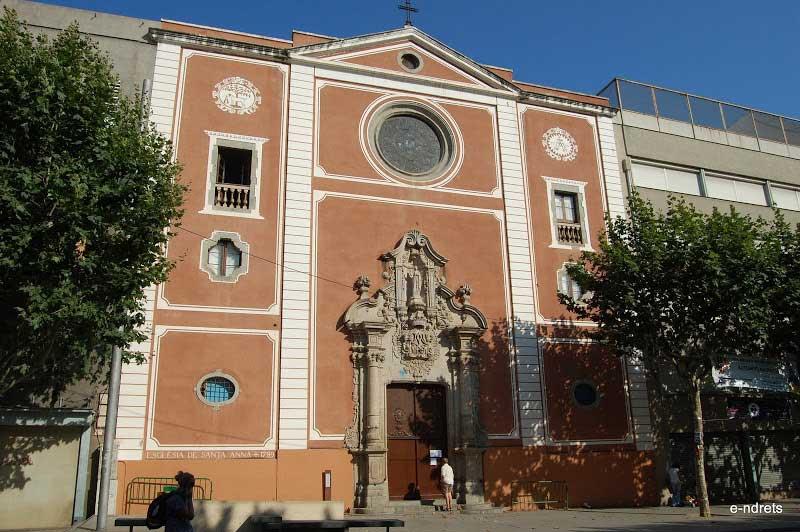 La sección de primaria de la Escola Pia Santa Anna de Mataró
