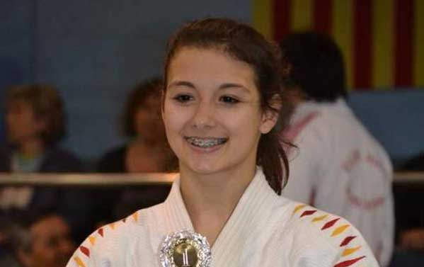 Marta Also, una joven promesa del judo