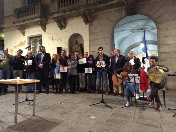 La musica ha servido para cerrar el acto. Foto: Ajt. de Mataró