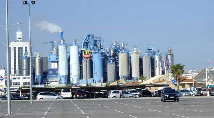 Vista parcial de la planta de Procter&Gamble en Mataró