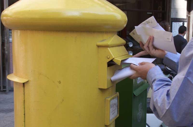 El cartero sustraía paquetes con contenidos valiosos