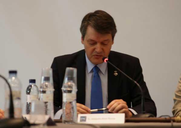 Joaquim Arnó es alcalde desde 2007 y fue el ganador de las elecciones municipales