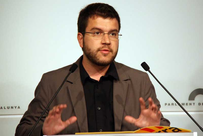 El diputado y regidor de Pineda, Pere Aragonès
