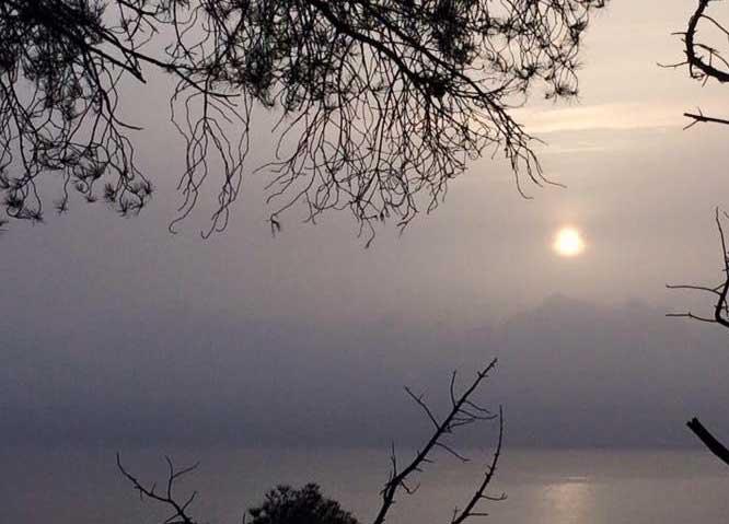 El polvo africano en suspensión ha empeorado la calidad del aire