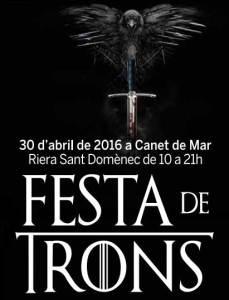 Cartel de la Festa de Trons