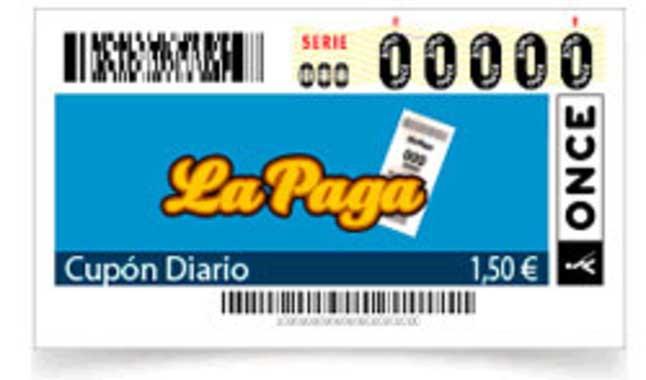 El cupón diario tiene un coste de 1'5 euros.