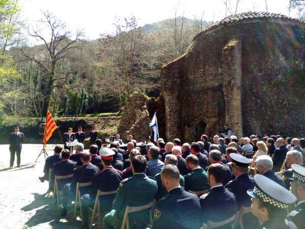 Hoy se ha celebrado en Dosrius el Dia de les Esquadres de la ABP de Mataró
