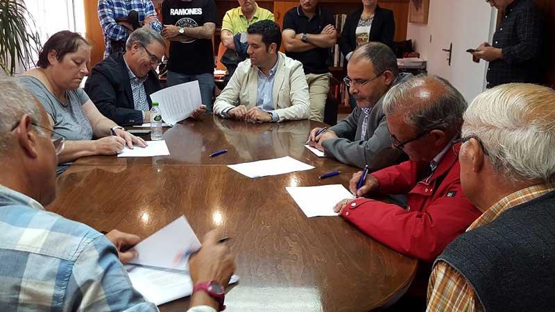 Ayuntamiento, defensores y detractores se sentaron a la mesa el 26 de mayo
