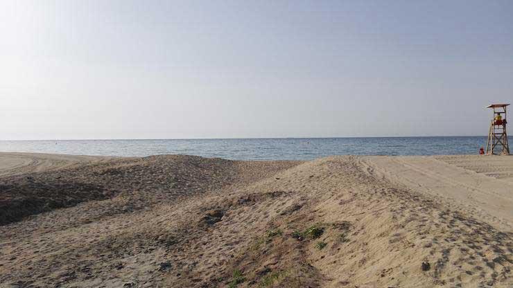 Aspecto del Torrent Amell. Foto: Ajt. de Premià de Mar
