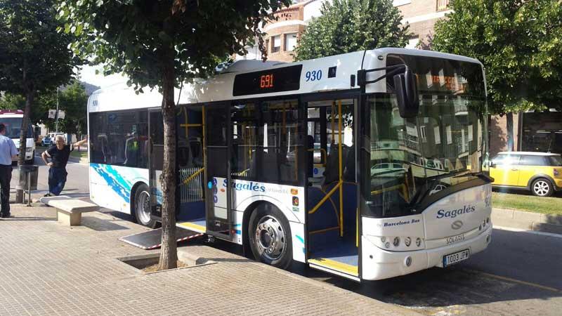 Los nuevos autobuses fueron presentados este martes