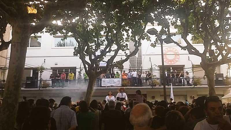 El pregón no se realizó pese a que la plaza se llenó