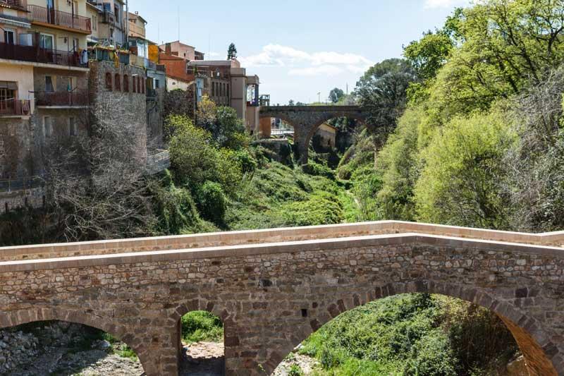Vista del puente ya restaurado. Foto: Tonificant