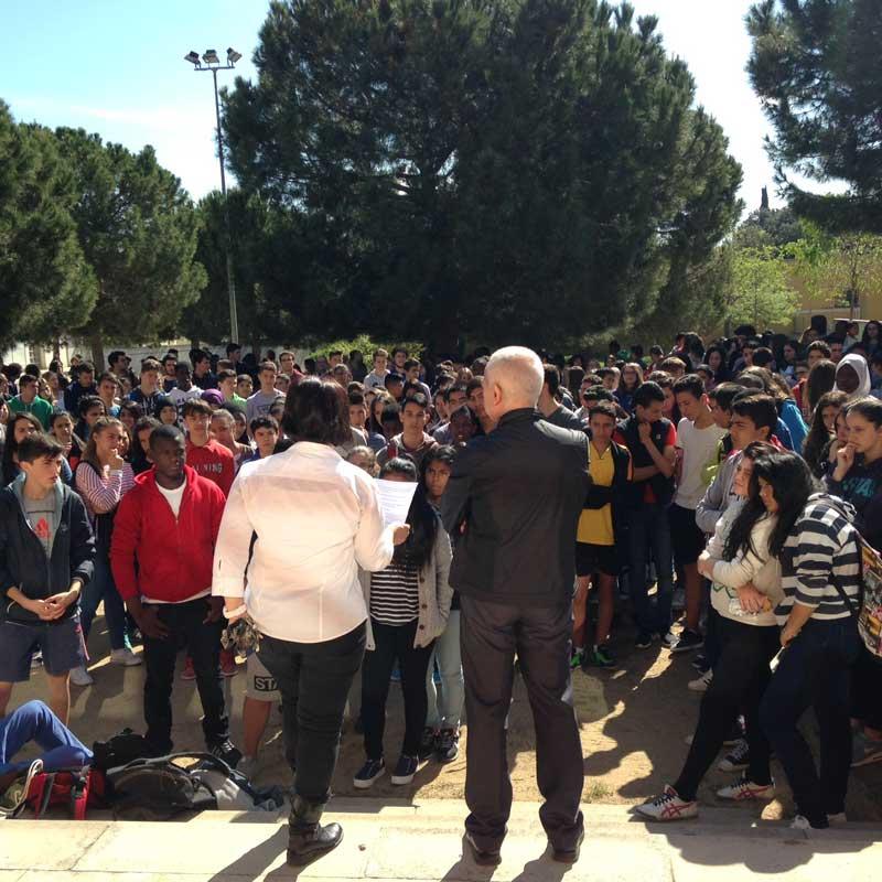 El suceso conmocionó a la comunidad educativa