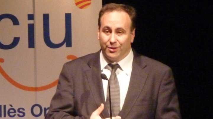 Jordi Mas, vicepresidente de CDC del Vallès Oriental