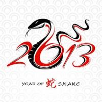 La serpiente del Año Nuevo chino llega más triste que de costumbre
