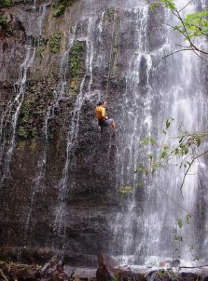 Cascada el Bebedero en Juayúa, Sonsonate
