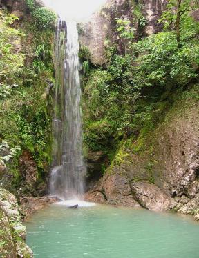 Cascada en Perquín, Morazán