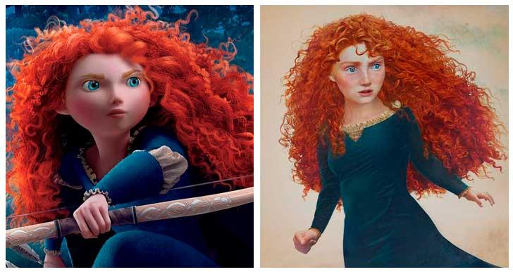 Mérida de Valiente, Princesa de Disney