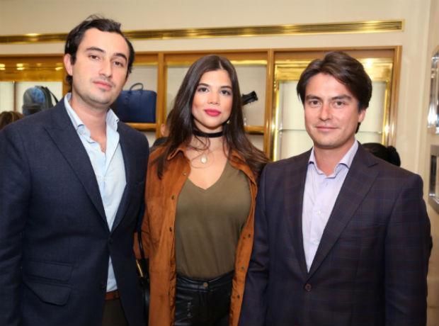 Andrés Niño, Alejandra Novoa y Nicolás Vásquez.