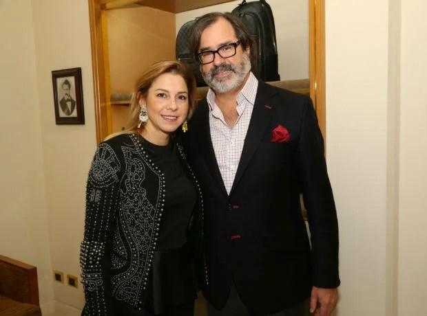 Catalina Torres y Francisco Samper.