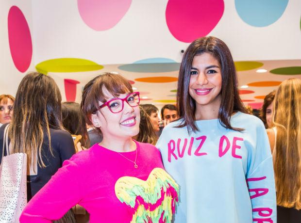 Diana Cáliz y Marcela Rivera.