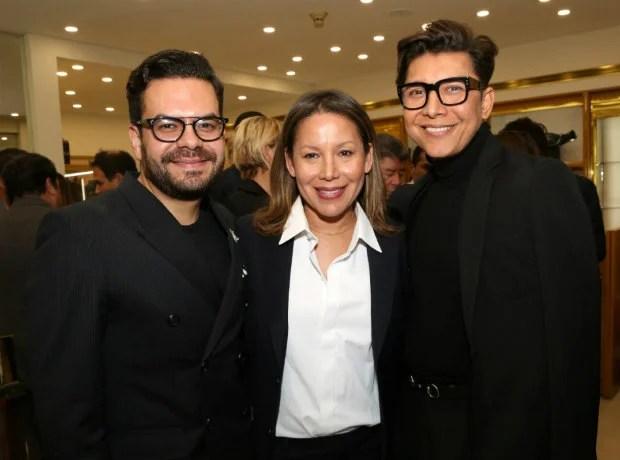 Juan Pablo Socarrás, Faride Ramos y Franklin Ramos.