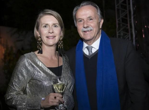 Katja Kessing y Klaus- Dieter Lehmann.
