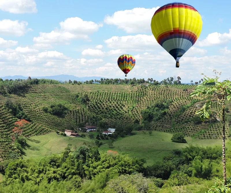 planes en Colombia