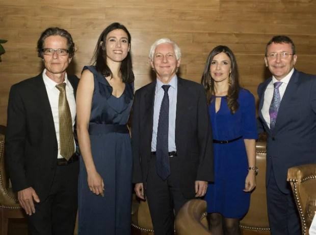 Maurice Bernard, Cecile Renaudo, Jean Marc Laforet, Natalia Cardenas y Laurent Charpin.