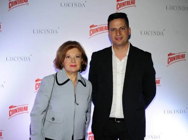 Celia Birbragher y Sebastián Riveros.