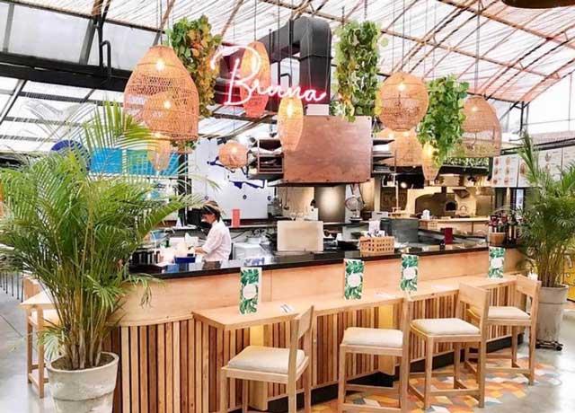 Bruna, restaurantes saludables