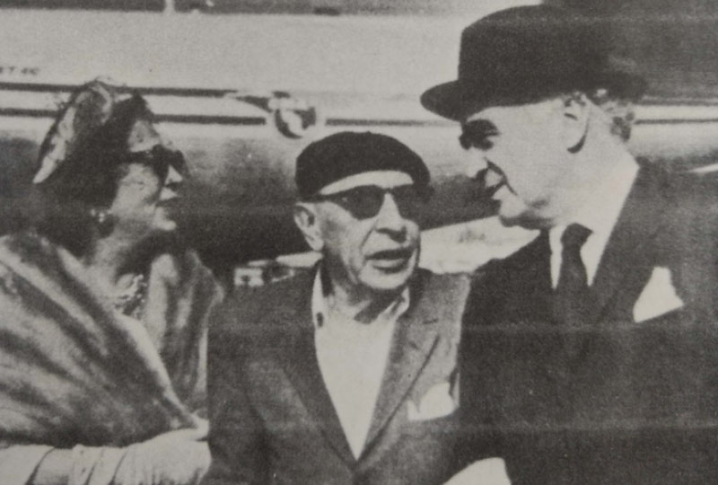 Jean Cocteau y Stravinsky