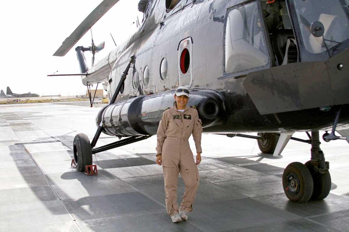 Helicóptero en Afganistán