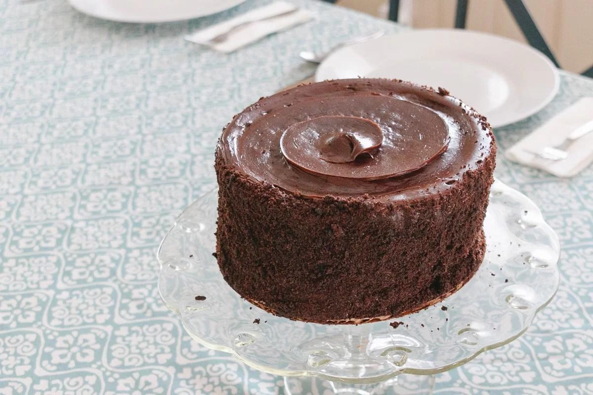 Pastel de chocolate, recetas con airfryer