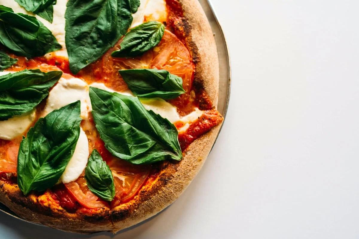 pizza italiana, recetas con airfryer