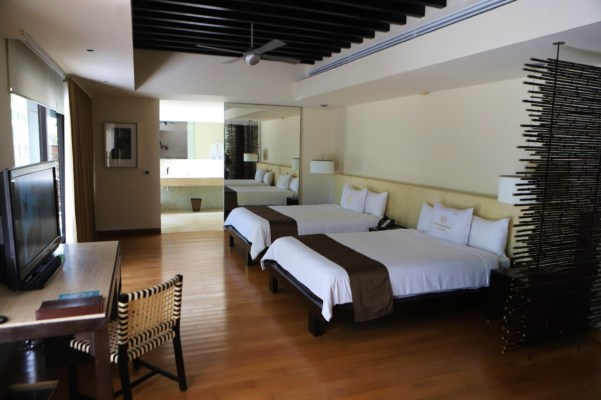 Hotel Blu Bay interior en Cancún