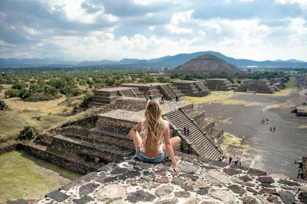 Calzada de los muertos, pueblos mágicos de México