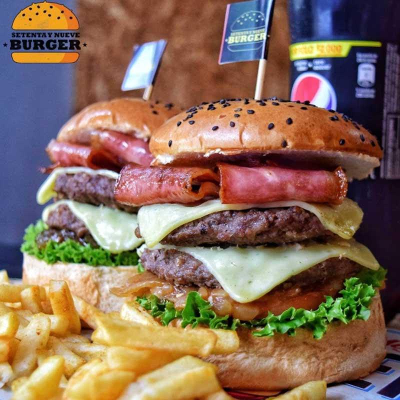 hamburguesas de Colombia