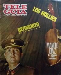 Portada revista Tele Guía nº 183 (del 27 de julio al 2 de agosto de 1967)
