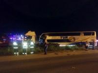 SC: Acidente entre caminhão e ônibus deixa cinco feridos na BR-280