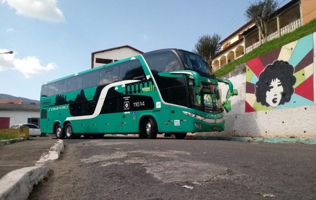 MG: Viação Sampaio escala seus ônibus DD na Alfenas x Rio x Alfenas