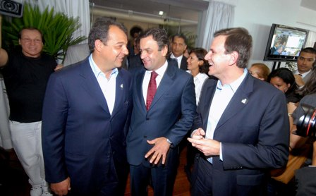Aécio teria recebido R$ 1,5 milhões de propina da Fetranspor, diz Sérgio Cabral