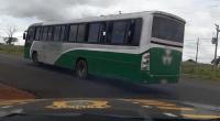 PRF apreende ônibus com estudantes na BR-060 em Rio Verde