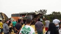 MT: Acidente com ônibus deixa 3 mortos e 4 feridos na BR-364